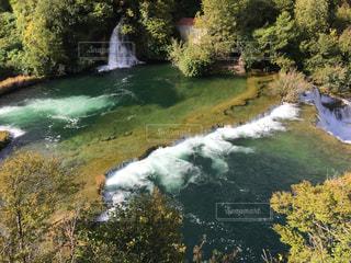 クロアチアの国立公園の写真・画像素材[1002728]