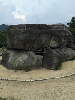 石舞台古墳の写真・画像素材[1002843]