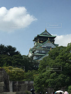 大阪城の写真・画像素材[1002852]