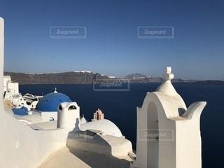 ギリシャ サントリーニ島の写真・画像素材[2150267]