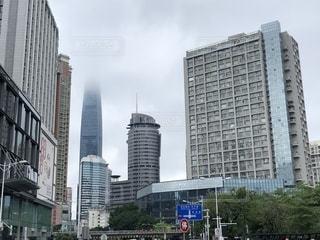 深センの超高層ビルの写真・画像素材[2153888]