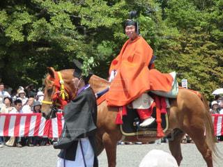 葵祭の路頭の儀の写真・画像素材[2159221]