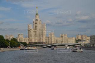 スターリン建築の代表芸術家アパートの写真・画像素材[2162674]