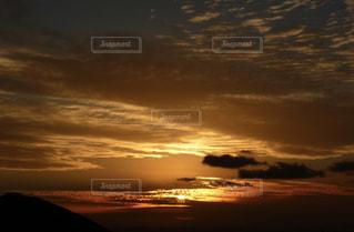 糸島の夕陽の写真・画像素材[2156798]