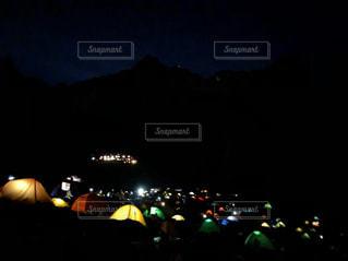 涸沢カールのテント村の写真・画像素材[2157339]