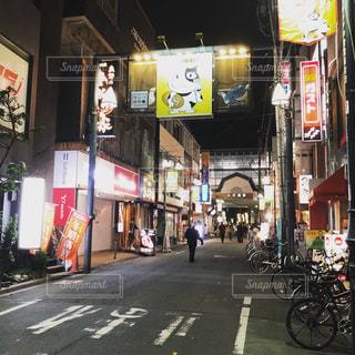 中村橋の夜の写真・画像素材[2180393]