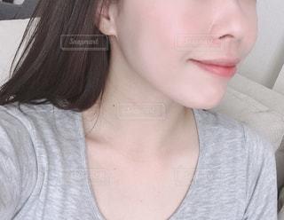 歯を磨く女性の写真・画像素材[2174498]