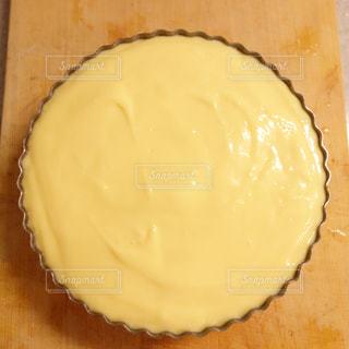 アップルカスタードクリームパイの写真・画像素材[2257265]