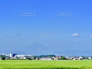 富士山のシルエットの写真・画像素材[2335380]