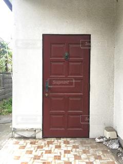 空き家の玄関の写真・画像素材[2801403]