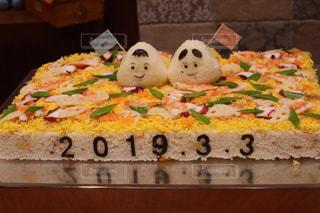 ウェディングちらし寿司の写真・画像素材[2159226]