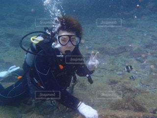 ダイビングの写真・画像素材[2159232]