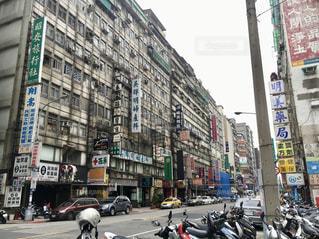 台湾の街並みの写真・画像素材[2160706]