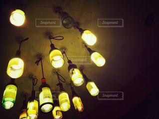 バルの照明の写真・画像素材[2162333]