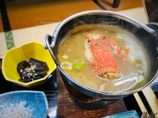 伊勢海老の味噌汁の写真・画像素材[2196127]