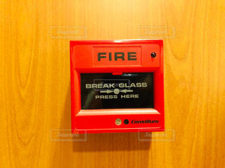 火災時用のボタンの写真・画像素材[2318224]