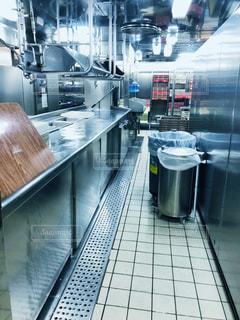 ダイヤモンドプリンセス号の厨房の写真・画像素材[2318225]