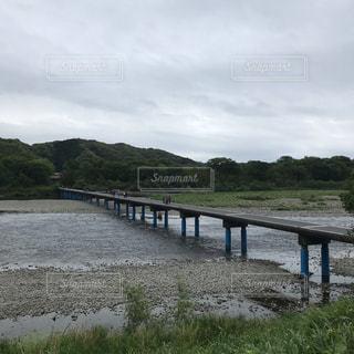 四国にある沈下橋の写真・画像素材[2161757]