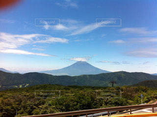 夏の富士の写真・画像素材[2172385]