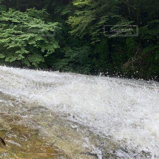 豪快な滝の写真・画像素材[2183919]
