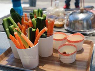 BBQ 野菜スティックの写真・画像素材[2164140]