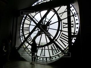 フランスのオルセー美術館、時計台にて。の写真・画像素材[2164373]