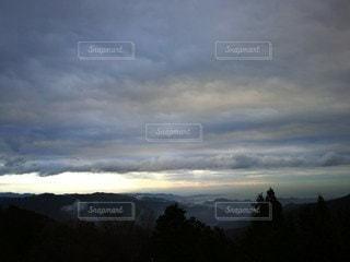山の上からの風景の写真・画像素材[2166817]