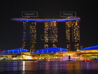 シンガポールの夜の写真・画像素材[2262540]