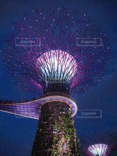 近未来のシンガポールの写真・画像素材[2262602]