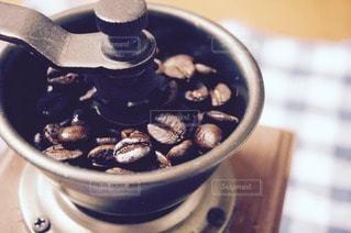 コーヒーミルの写真・画像素材[83600]