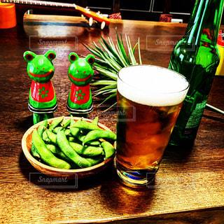 ビールと枝豆【2019-07-24】の写真・画像素材[2310494]
