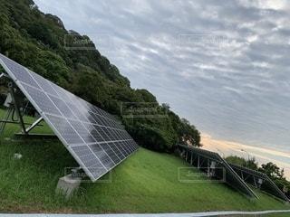 太陽光発電【2019-08-21】の写真・画像素材[2376389]