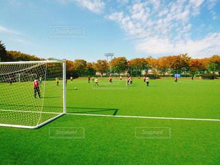 サッカーの写真・画像素材[2175598]