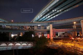 夜のジャンクションの写真・画像素材[2173354]