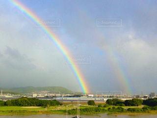 虹と空の写真・画像素材[2173702]