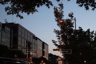通りのクローズアップの写真・画像素材[2196593]
