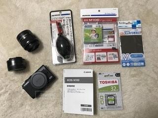 初めてのカメラ基本セットの写真・画像素材[2212175]