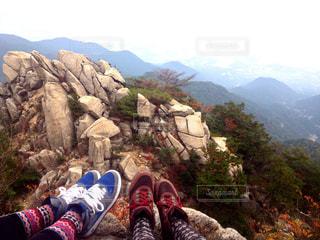 友達と登山の写真・画像素材[2217199]