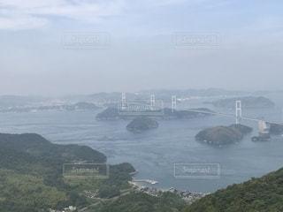 しまなみ海道の一部来島海峡大橋の写真・画像素材[2174750]