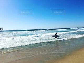 カリフォルニアのビーチの写真・画像素材[2176382]