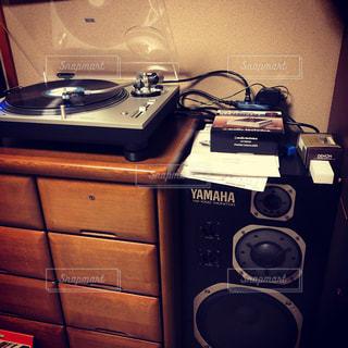 レコードの写真・画像素材[2176979]