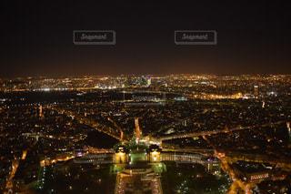エッフェル塔からの夜景の写真・画像素材[2178393]