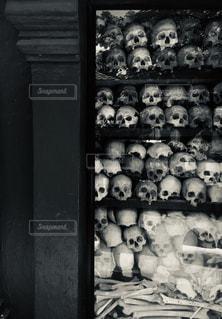キリングフィールドの無縁仏の写真・画像素材[2208665]