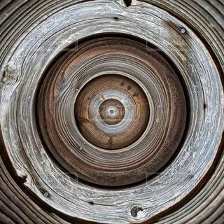 木目のクローズアップの写真・画像素材[2182729]
