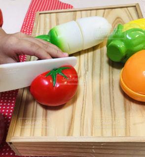 おままごと 野菜の写真・画像素材[2186259]
