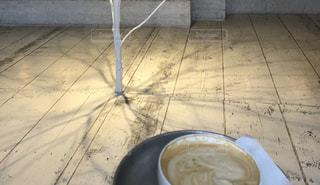 一杯のコーヒーの写真・画像素材[2203642]