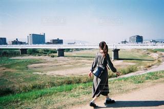 河川敷の写真・画像素材[2186567]
