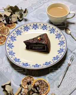 チョコレートケーキの写真・画像素材[2187965]