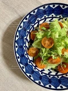 簡単サラダの写真・画像素材[2712691]