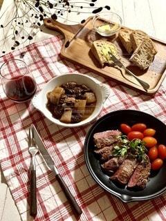 牛肉とトマトの写真・画像素材[3499249]